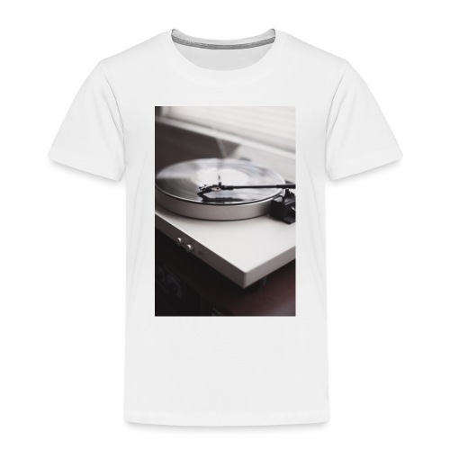 Plattenspieler - Kinder Premium T-Shirt