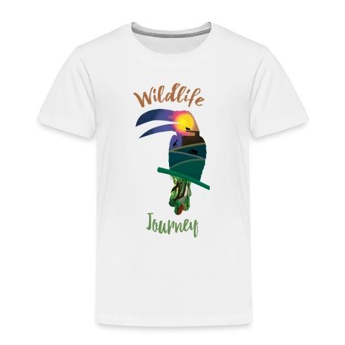 Wildlife Journey - Kinder Premium T-Shirt