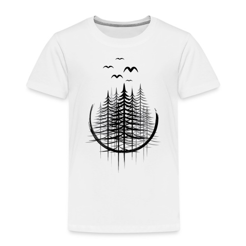 Wald - Kinder Premium T-Shirt