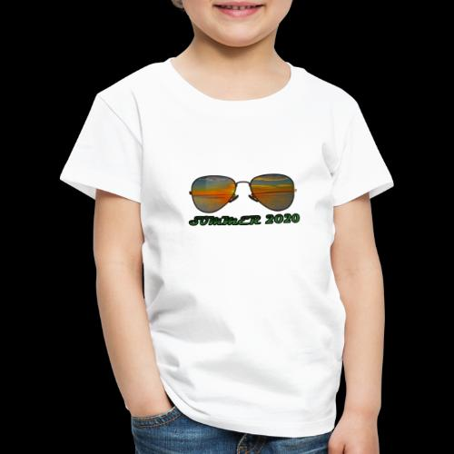 Summer 2020 Beach Vacation Sunglasses - Kinder Premium T-Shirt