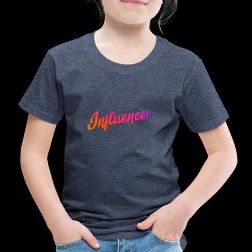 Influencer Instagram Youtube Youtuber - Kinder Premium T-Shirt