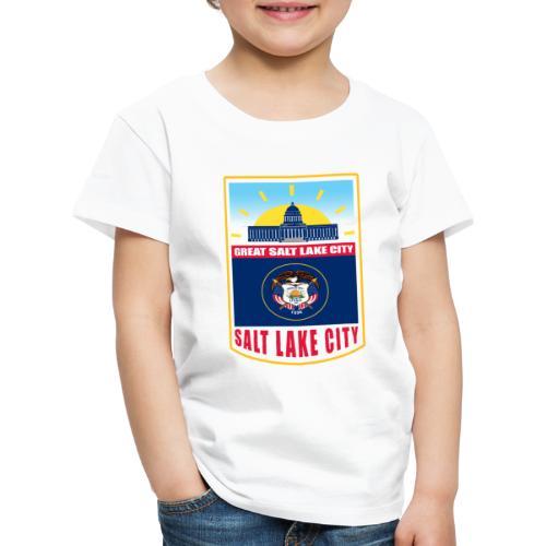 Utah - Salt Lake City - Kids' Premium T-Shirt