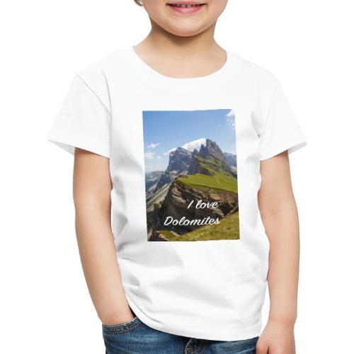 Naturpark Puez Geisler - Kinder Premium T-Shirt