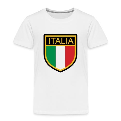 SCUDETTO ITALIA CALCIO - Maglietta Premium per bambini