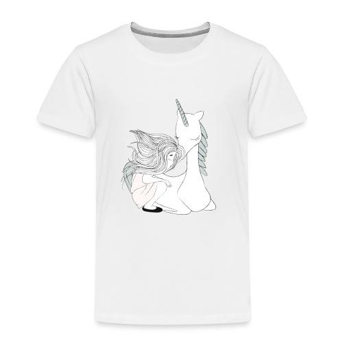 Magisches Einhornmädchen - Kinder Premium T-Shirt