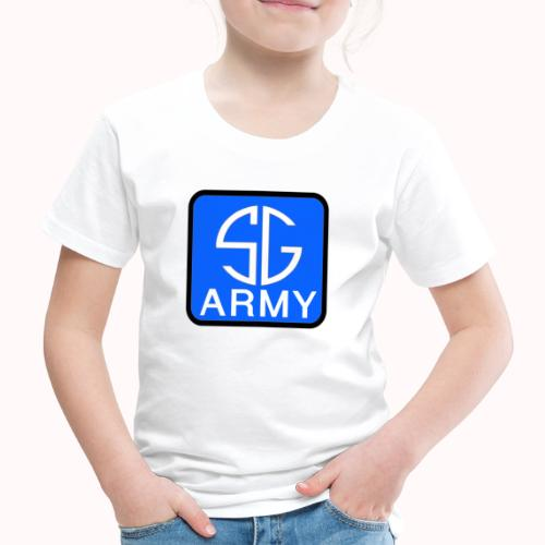 SemGamerArmy logo in box - Kinderen Premium T-shirt