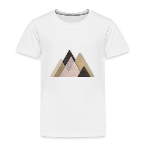 Berge abstrakt - Kinder Premium T-Shirt