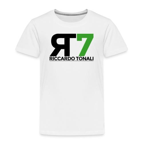 logo_riccardoTonali_new - Maglietta Premium per bambini