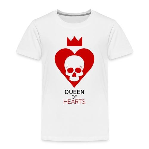 Tee shirt manches longues Reine des Coeurs - T-shirt Premium Enfant