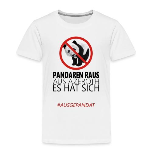 Anti-Pandaren-Shirt - Kinder Premium T-Shirt
