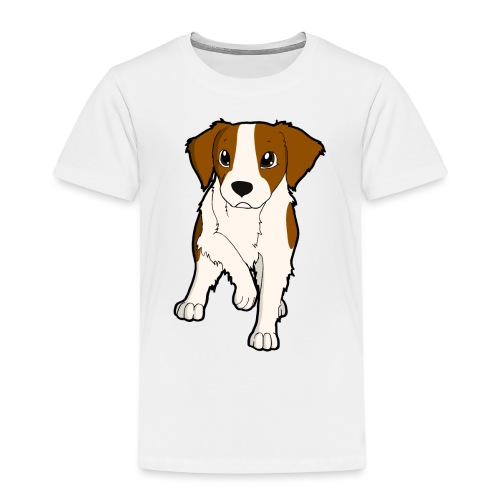 Breton bianco rosso - Maglietta Premium per bambini