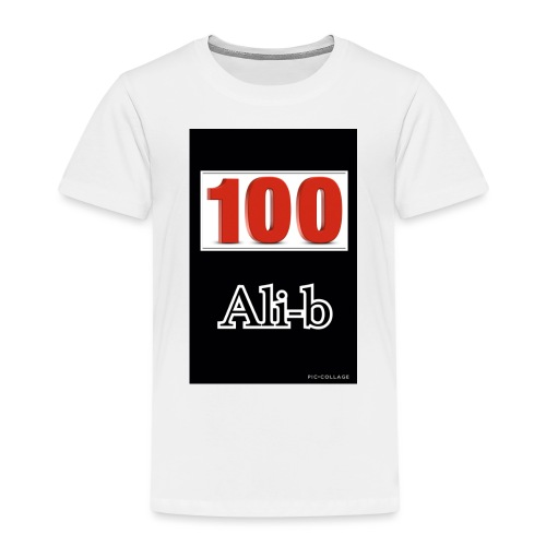 Limited edition Ali-b 100 subscribes merchandise - Kids' Premium T-Shirt