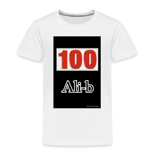 Limited edition Ali-b 100 subscribes merchandise - Kids' Premium T-Shirt