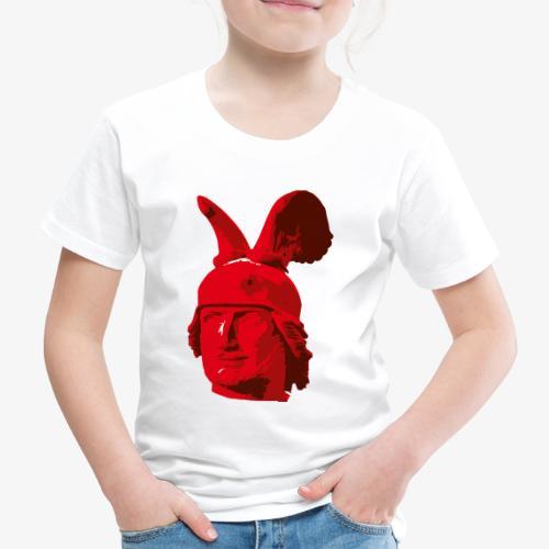 Kopf des Hermannsdenkmals - Kinder Premium T-Shirt