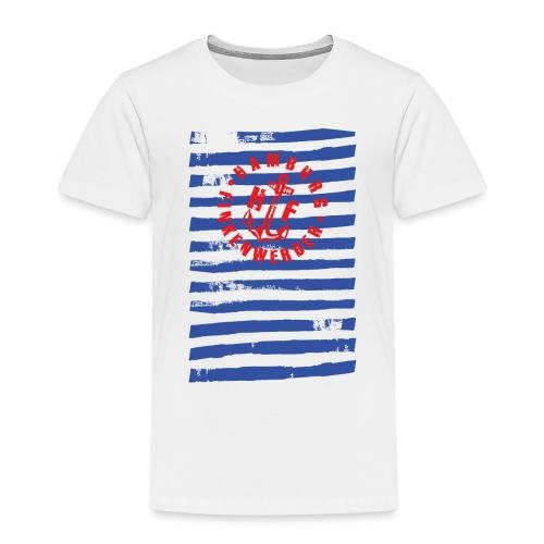HF gestreift Shirt - Kinder Premium T-Shirt