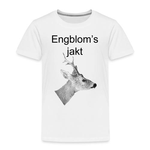 Officiell logo by Engbloms jakt - Premium-T-shirt barn