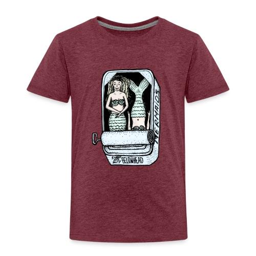 mermaids colored - Kinder Premium T-Shirt