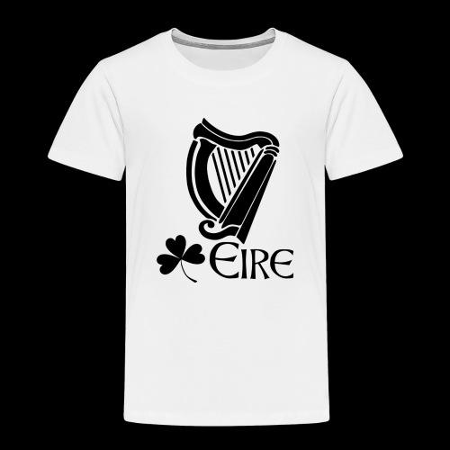 Irish Harp and Shamrock - Kids' Premium T-Shirt