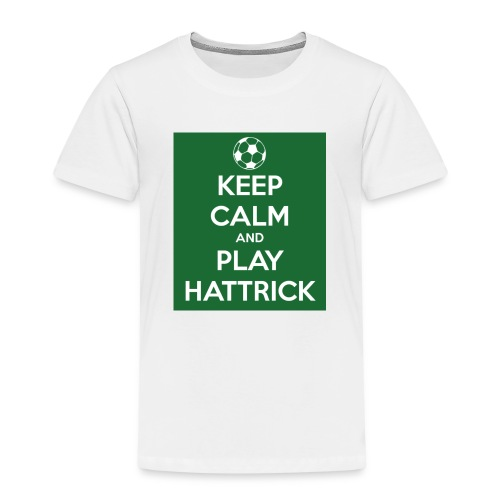 keep calm and play hattrick - Maglietta Premium per bambini