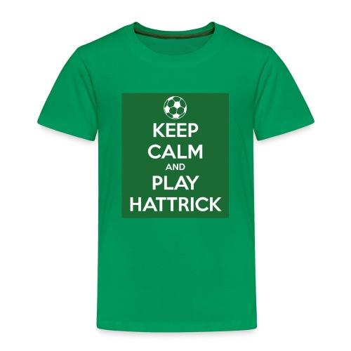keep calm and play hattrick - Maglietta Premium per bambini