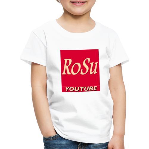 Få et personligt præg fra din yndlings YouTuber - Børne premium T-shirt