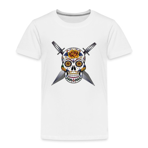 Cross skull swords - T-shirt Premium Enfant