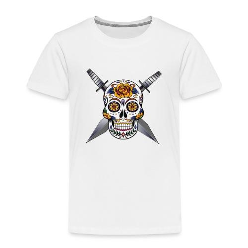 Cross skull swords - T-shirt Premium Enfant
