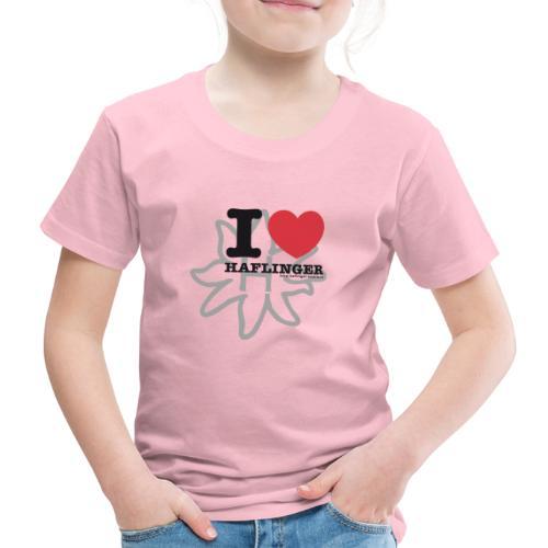 I love Haflinger - Kinder Premium T-Shirt