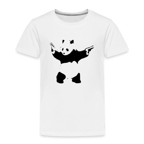 oso panda pistolas - Camiseta premium niño