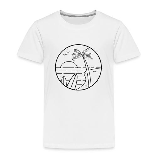 summer vibes - Camiseta premium niño