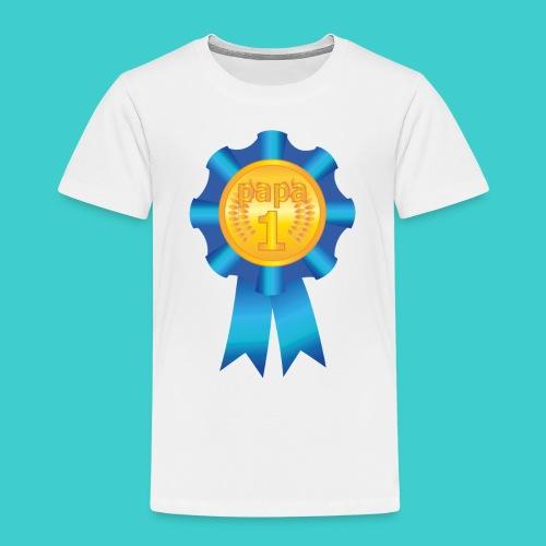 Papa Medaille - Kinderen Premium T-shirt