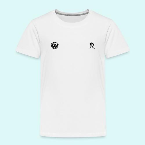 WAVE LOGO BLACK - Kids' Premium T-Shirt