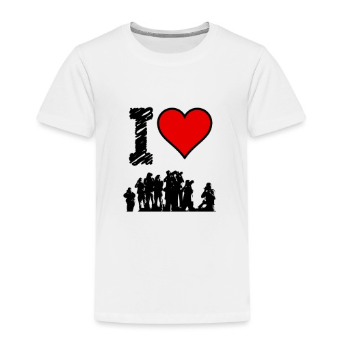 I Love Spotting - Maglietta Premium per bambini