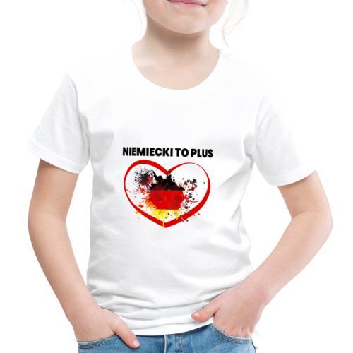 Deutsch Polen Design - Kinder Premium T-Shirt