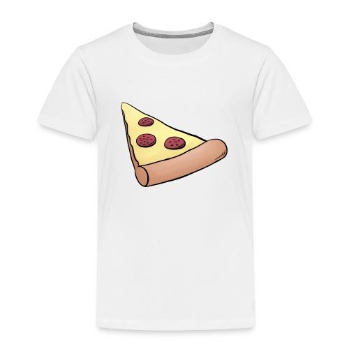 Pizzastück für Eltern-Baby-Partnerlook - Kinder Premium T-Shirt
