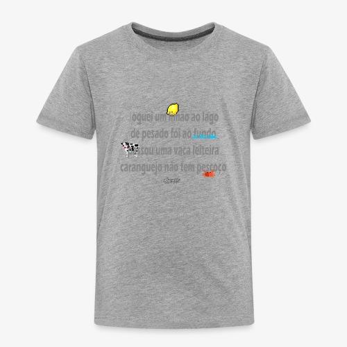 Versinho de infancia - Kids' Premium T-Shirt