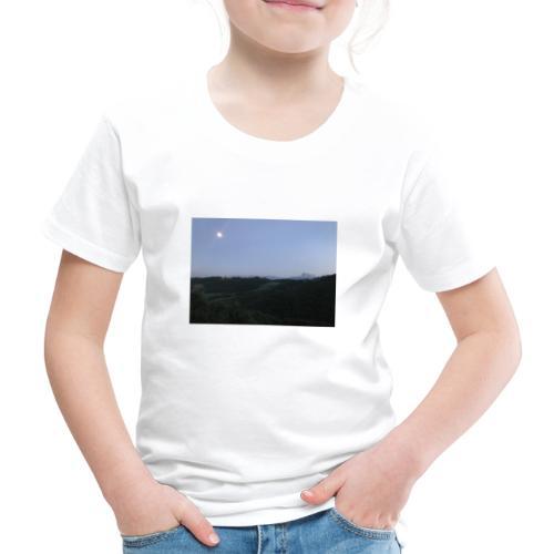 Paesaggio con luna - Maglietta Premium per bambini