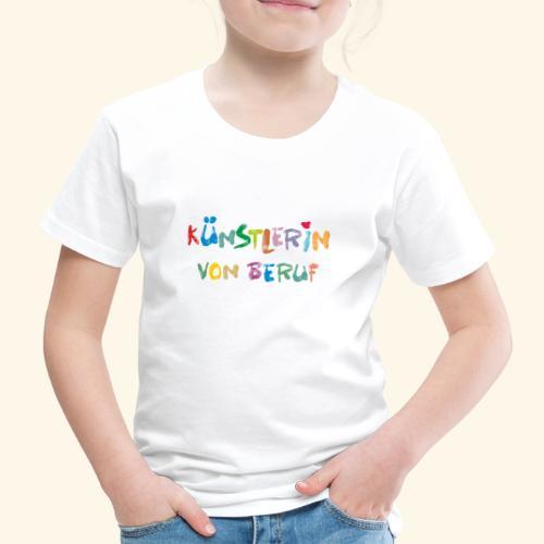KünstlerIN Beruf - Kinder Premium T-Shirt