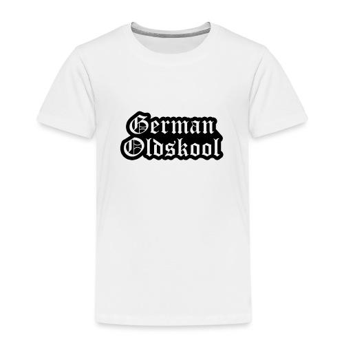 Grand Logo German Oldskool Official - T-shirt Premium Enfant