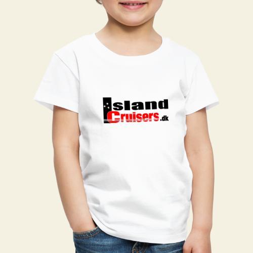 Island cruisers black - Børne premium T-shirt