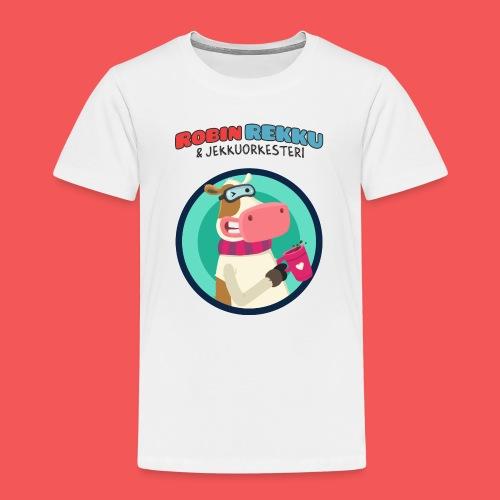 Kossa tag - Lasten premium t-paita