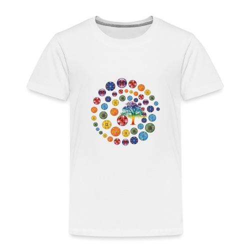 Espiral de Chakras - Camiseta premium niño