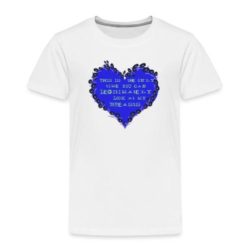 Cheeky heart - Kids' Premium T-Shirt