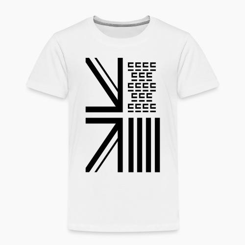 Entra© Flag White - Kids' Premium T-Shirt