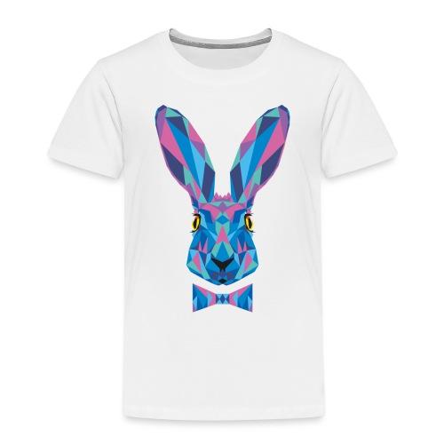 Hase Fliege Feldhase Langohr bunt Kaninchen Löffel - Kinder Premium T-Shirt