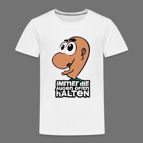 Oczy na - Koszulka dziecięca Premium