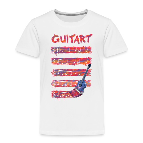 GuitArt - Kids' Premium T-Shirt