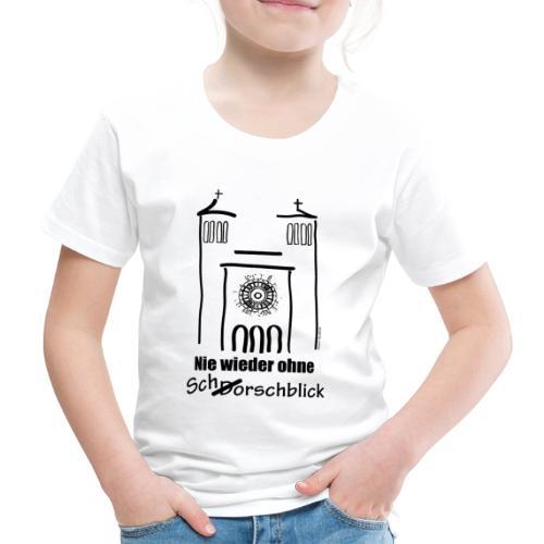 Schorschblick schwarz - Kinder Premium T-Shirt