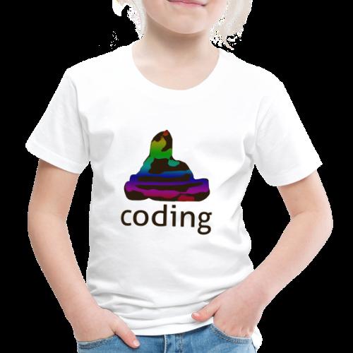 coding - Kinder Premium T-Shirt