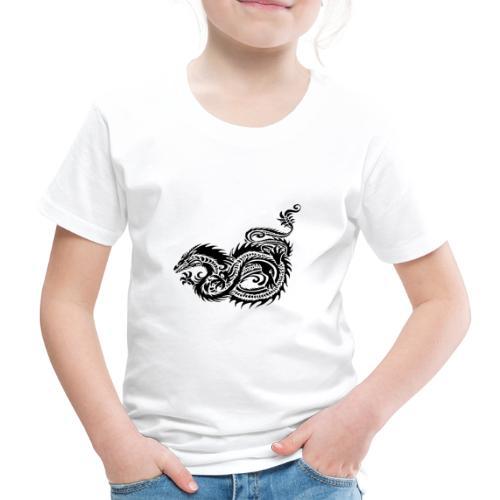 Dragon tribal mythique - T-shirt Premium Enfant